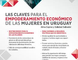 Las  claves para el empoderamiento económico de las mujeres en Uruguay. Nueva edición