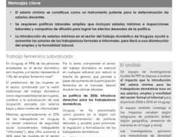 Trabajadoras domésticas de Uruguay impulsadas por la política de salario mínimo