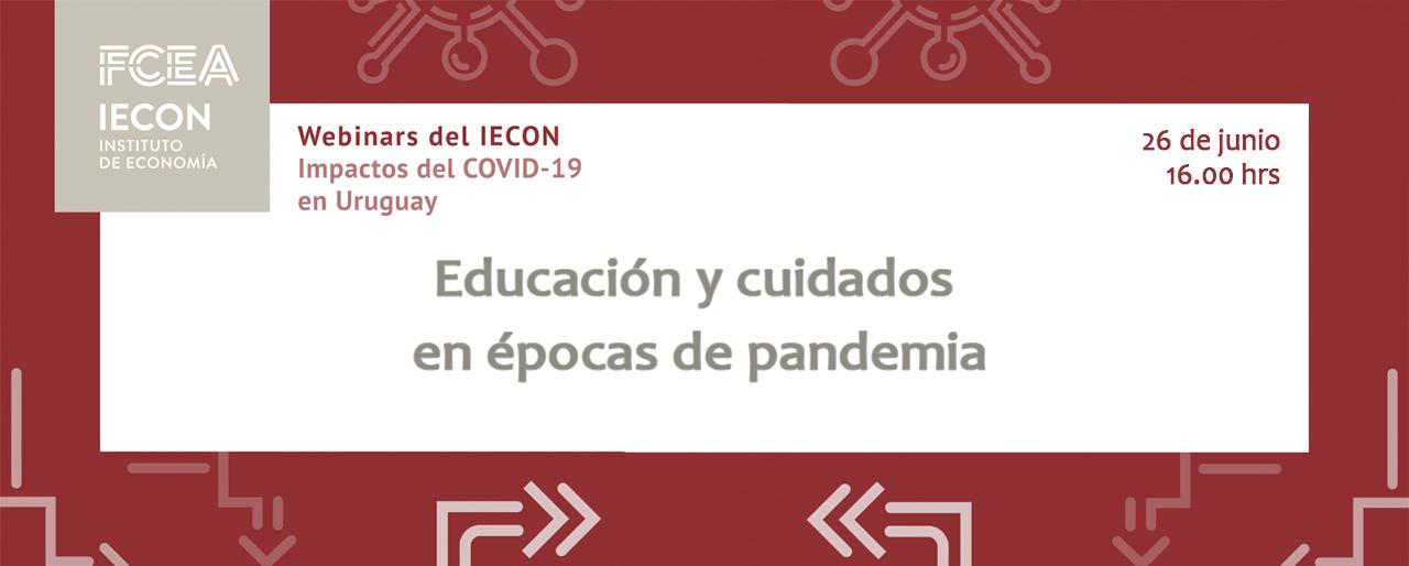 Educación y cuidados en épocas de pandemia